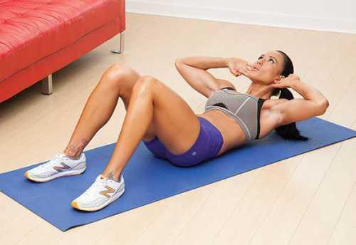 как накачать верхний пресс: эффективный комплекс упражнений