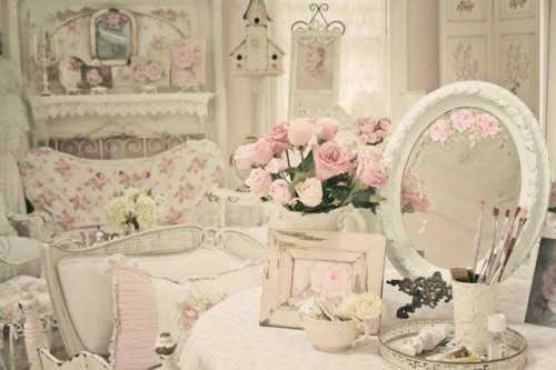 спальня в стиле шебби шик: правила декора